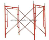 Painted or Galvanized Main Frame/ Ladder Frame Scaffolding for Construction