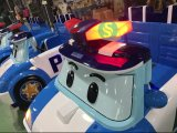 Roto Molded Plastic Police Lighting for Kids Car Outdoor Playground (SS-7)