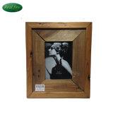 "7"" Wood Simple Design Rectangle Photo Frame"