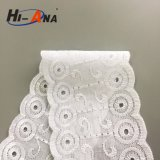 One to One Order Following Hot Selling White African Lace