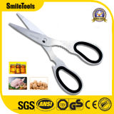 Household Multi-Purpose All-Stainless Steel Scissors Barbecue Shears