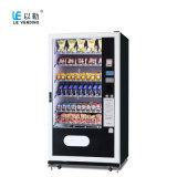 Factorty Price Refrigerated Drinks and Snack Vending Machine LV-205L-610A