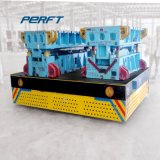 Caster Wheel Attached Workshop Conveyer Raw Material Transfer Trolley