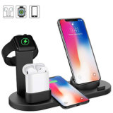 4 in 1 Wireless Fast Charger Power Supply/Phone Accessories/USB/Charger Smartwatch Charging Station Multi Charging Stand for Accessories for All Mobile Phone