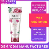 OEM Private Label Moisturizing Nourishing Body Care Gently Hydrating Skin Natural Rose Whitening Body Lotion