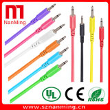 3.5mm Male to Male Mono Patch Cable Audio Extension Cable - Length Can Be Customized