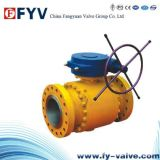 API Forged Steel Trunnion Mounted Ball Valve