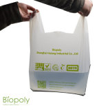 Biodegradable Packaging T-Shirt Thank You Cheap Shopping Custom Printed Plastic Bags
