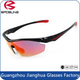 Flexible Tr90 Frame Anti Glare Fishing Glasses with Polarized Lens