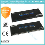 Support 3D 1080P 2.0V 1X8 HDMI Splitter for HDTV DVD PS3