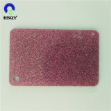 Direct Factory Price Custom Cast Red Color Glitter Acrylic Sheets