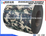 Color Coated Steel Coil with Military Design