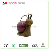 Metal Lovely Snail Watering Can Figurine for Home and Garden Ornaments