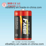 1.5V Farer Super Heavy Duty Dry Battery (R20 Um1, D)