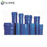 High Pressure Oriented PVC Drain Blue Pipe Fitting