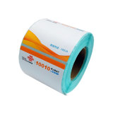 to Shipin Stock Fast Dispatch Custom Printed Paint Bucket Packaging Paper Logo Stickers Roll