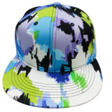 Hot Sale Snapback Baseball Cap with Floral Fabric (GJ1753)