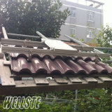 Solar Roof Panel Mounting Structure Bracket on Rooftop