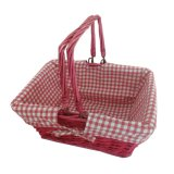 Wicker Wilow Picnic Gift Fruit Storage Flower Basket
