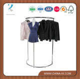 Half Round Garment Shelf for Clothing Store