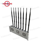 High Power Eco-Friendly Eight Bands Jammer CDMA/GSM/3G2100MHz/4glte Cellphone/Wi-Fi/Bluetooth/Walkie-Talkie