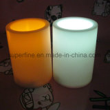 Home Romantic Cheap Wholesale Plastic Flameless Pillar LED Candle Products