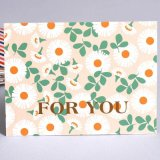 OEM Colorful Coated Paper Greeting Card