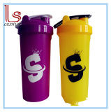 550ml Plastic Blank Protein Shaker Cup Bottle