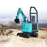 CE and EPA Approved Factory Smallest 1 Ton to 2.5 Ton Hydraulic Rubber Crawler