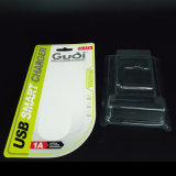 Custom Heat Sealing Resistant Clear Plastic Blister Packing with Paper Card