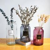 Big Flower Glass Vases Wholesale Cheap