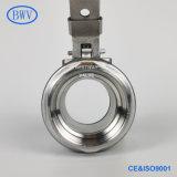 1000wog/1000psi Pn63 CF8 CF8m 304 316 Wcb NPT/BSPT/BSPP Thread Industrial 2PC Stainless Steel Manual Floating Ball Valve