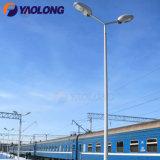 Yaolong 6m-12m Hot DIP Galvanized Single Double Arm Conical Octagonal Street Light Poles