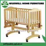 Solid Pine Wood Baby Playpen Bed