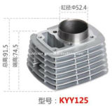 Motorcycle Accessory Motorcycle Cylinder for Kyy125