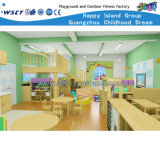 Nursery School Kids Wooden Table and Chairs (KS2-1-F)
