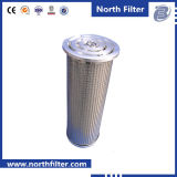 Stainless Steel End Cap Oil Filter Cartridge for Hydraulic Oil