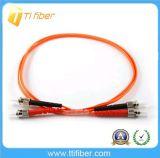 ST/PC to ST/PC Multimode 62.5/125 Duplex Fiber Patch Cables