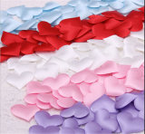 50PCS Fabric Heart Wedding Party Confetti Decorative Supplies