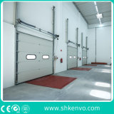 Industrial Automatic Overhead Steel Thermal Insulated Vertical Lifting Roll up Metal Exterior Garage or Sectional Door for Warehouse and Loading Docks