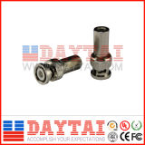 China Plating Nickel Brass CATV Male BNC Connector