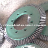 Steel Wire Leather Styling Round Brush (YY-326)