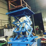 1ton Electric Powered Self-Propelled Scissor Lift