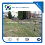 Hot Sale! ! ! High Security Black PVC Coated Chain Link Fence