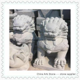 Chinese Stone Lion for Garden or Door