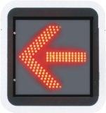 220V Large Diameter 600mm Direction Indicator Light for Travel Traffic Light System