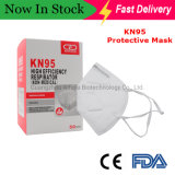 Ready Stock to Ship Cheap Dust Protection Disposable Face Mask Disposable KN95 Mask