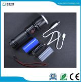 New! Jff80 T6//L2/T20 USB Charging 18650 26650 AAA Battery LED Flashlight for Emergency