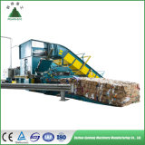 The Newest Style Automatic Paper Baler Machine, Auto Tie Horizontal Baling Press Machine for Occ, Garbage, Waste Paper, Cardboard, Straw, Plastic, Pet