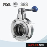 Stainless Steel Pull Handle Welded Sanitary Butterfly Valve (JN-BV3001)